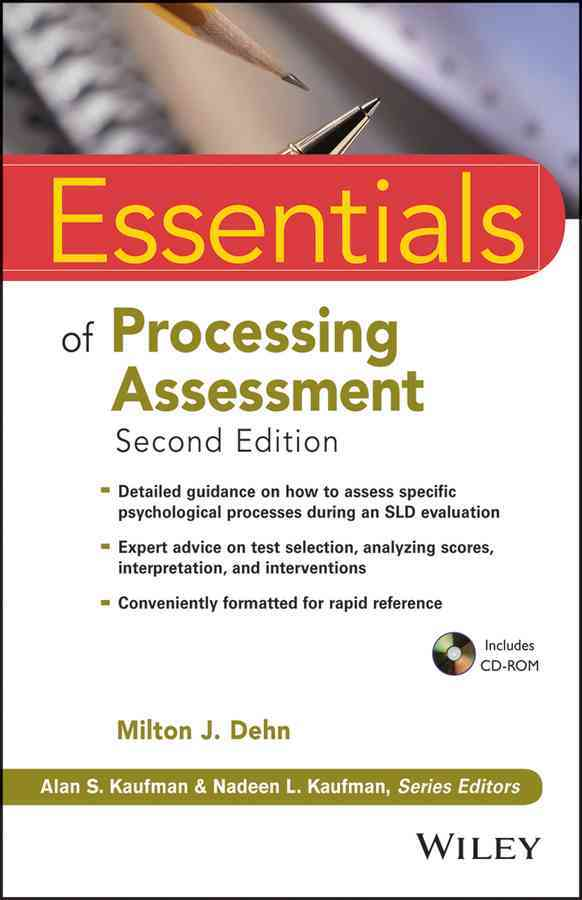 Essentials of Processing Assessment By Dehn, Milton J.
